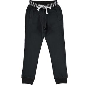 "Pantalone jogging con scritta ""New York"" NERO"